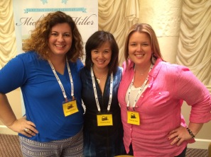 My Co-Panelists and the A Team of the event - Michele G. Miller and AnnaLisa Grant.